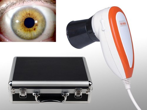 JYtop NEW 5.0 MP USB Eye Iriscope,Iris Iridology camera 990U with Pro Software, FCC,CE EH990U