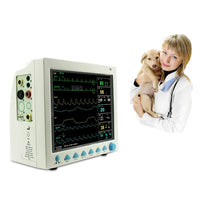 "JYTOP CMS8000 VET Veterinary 12.1"" LCD 6 Parameter ICU CCU Patient Monitor CE FDA"