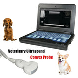 JYTOP CMS600P2-VET Veterinary Laptop B-Ultrasound Scanner small animals 3.5mhz convex probe+bag
