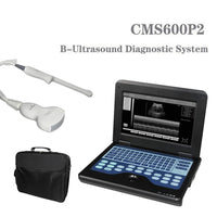 JYTOP Portable Laptop Machine Digital Ultrasound Scanner,2Probes Convex +endo-vaginal CMS600P2