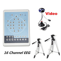 JYTOP KT88-1016 Digital 16-Channel EEG Machine& Mapping Systems,Video camera+ Software