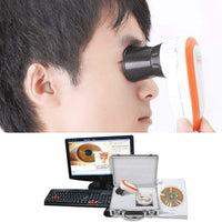 JYtop NEW 5.0 MP USB Eye Iriscope,Iris Iridology Skin Hair camera 990U with Pro Software, FCC,CE EH990U