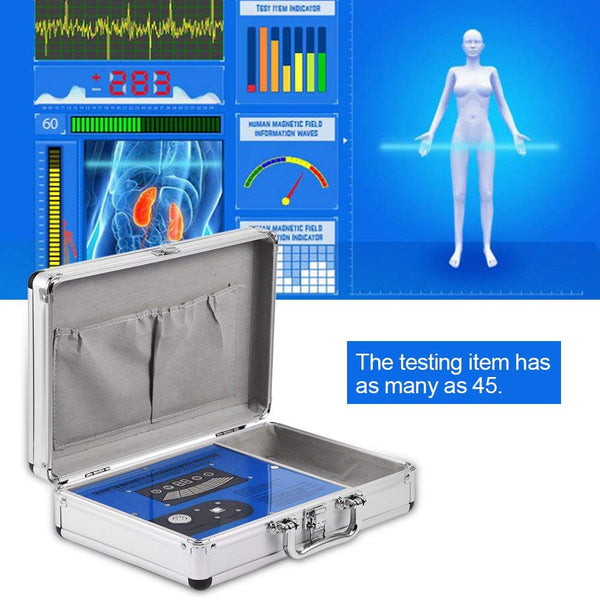 JYtop 2018 Ver 4.6.0 45R Quantum Magnetic Resonance Health Analyzer by DHL for Big Size