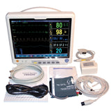 JYTOP CO2 Patient Monitor Vital Signs Monitor 7 Parameters CMS9200 With ETCO2+Printer