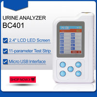 JYTOP BC401 Handheld Urine Analyzer 11-parameter 100pcs test Strip