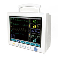 JYTOP CMS7000 Plus Vital Signs ICU CCU Patient Monitor 6-Parameter,Touch Screen