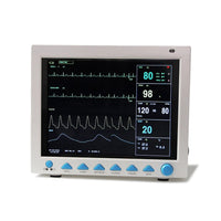 JYTOP CMS8000 ICU CCU Vital Sign Patient Monitor 7 Parameters Free ETCO2 +Free Printer