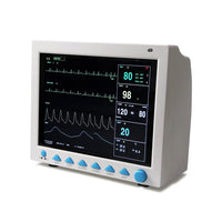 JYTOP FDA CE 12.1 inch Portable ICU/CCU CMS8000 Patient Monitor Vital Signs 6-Parameter + IBP