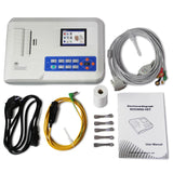JYTOP ECG300G VET three Channel ECG Machine,Veterinary Electrocardiograph,software