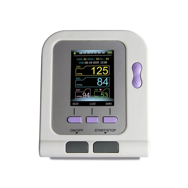 JYTOP Infant Blood Pressure Monitor Contec08A+Bundled SPO2 PROBE Software 6-11cm cuff