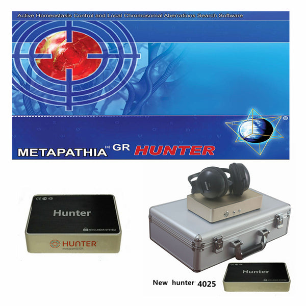 JYTop New Bio Resonance system Hunter 4025 NLS with Metapathia GR Software