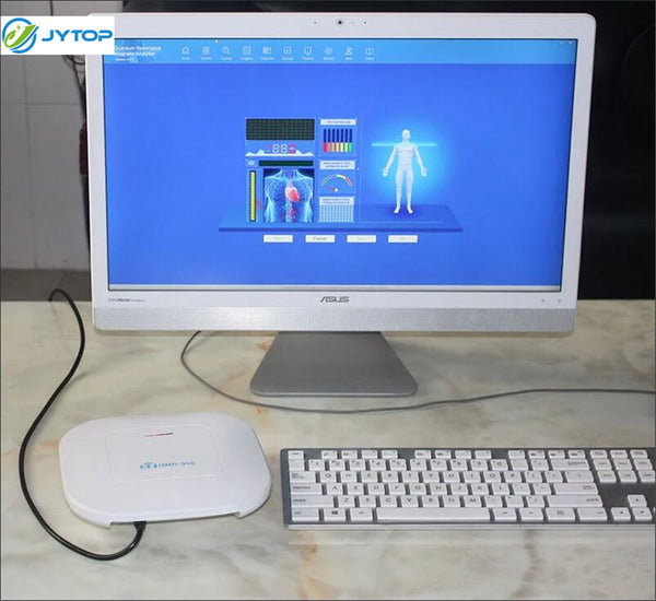 JYTOP The newest 10th Generation Hand Scan Quantum Bio Resonance Analyzer for Health