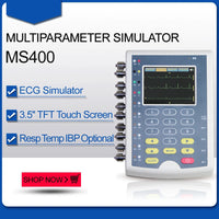 JYTOP MS400 Multiparameter Simulator multi-parameter Color Touch patient monitor