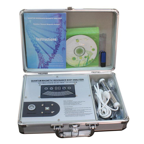 JYtop 2019 New 3rd Magnetic Quantum Resonance body Generation Health Analyzer V4.7.0