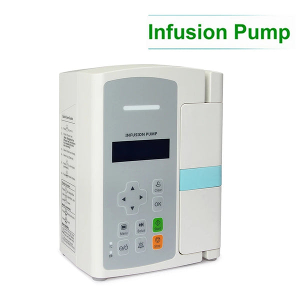 JYTOP SP800 LCD Infusion Pump Accurate flow rate control Unique door design Alarm