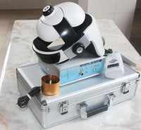 JYtop 2019 New Non-linear analysis system bio-resonance 9DNLS body health analyzer with massage helmet White