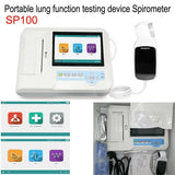 JYTOP Portable lung function testing device Spirometer/Spirometry color LCD display