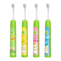 JYTOP Vibration Modes Kids Electric Toothbrush 8 Cute Stickers, For ages 3-12