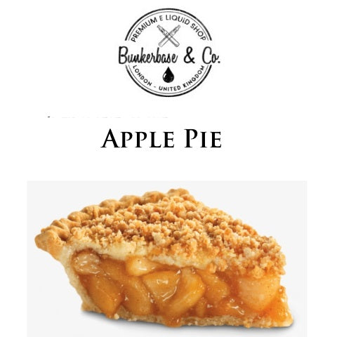 Bunkerbase & Co. - Apple Pie - 10 ml Flavor Concentrate