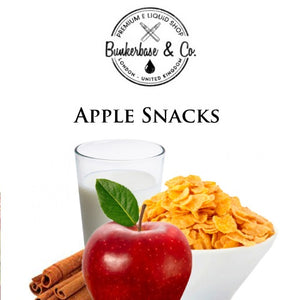 Bunkerbase & Co. - Apple Snacks - 10 ml Flavor Concentrate