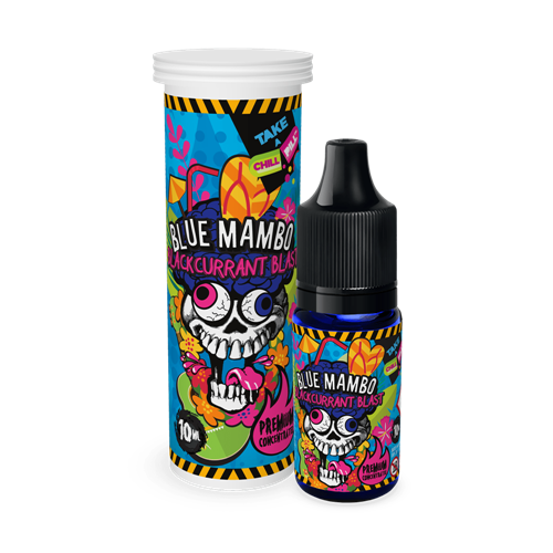 Chill Pill - Blue Mambo - Blackcurrant Blast - 10 ml Flavor Concentrate