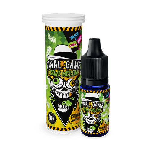 Chill Pill - Final Game - Kiwi Melon - 10 ml Flavor Concentrate