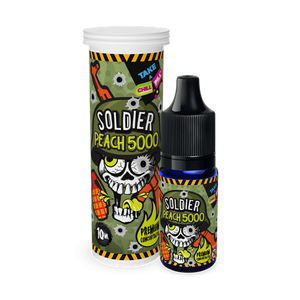 Chill Pill - Soldier - Peach 5000 - 10 ml Flavor Concentrate