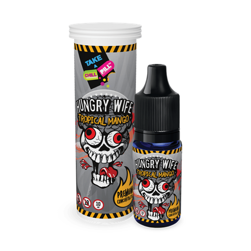 Chill Pill - Hungry Wife - Tropical Mango - 10 ml Flavor Concentrate