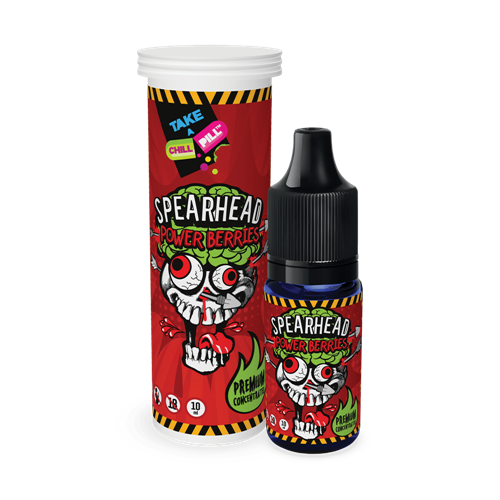 Chill Pill - Spearhead - Power Berries - 10 ml Flavor Concentrate