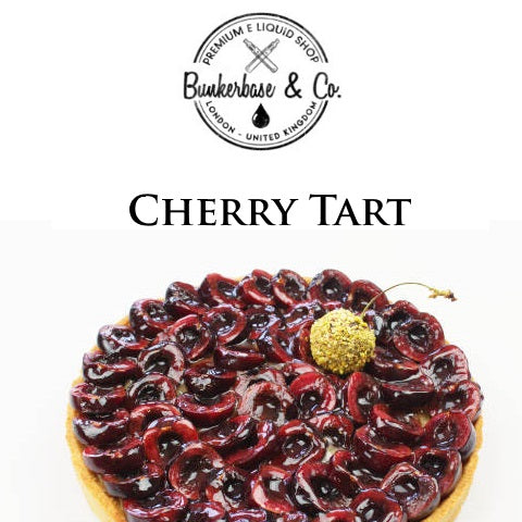 Bunkerbase & Co. - Cherry Tart - 10 ml Flavor Concentrate