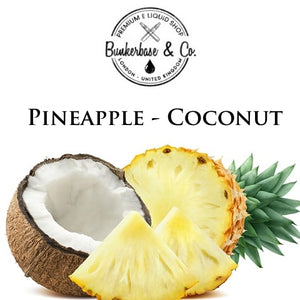 Bunkerbase & Co. - Pineapple - Coconut - 10 ml Flavor Concentrate