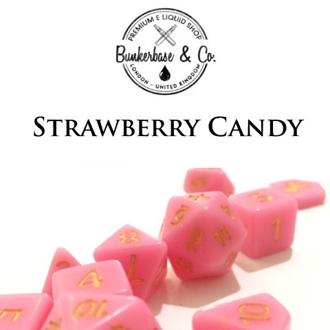 Bunkerbase & Co. - Strawberry Candy - 10 ml Flavor Concentrate