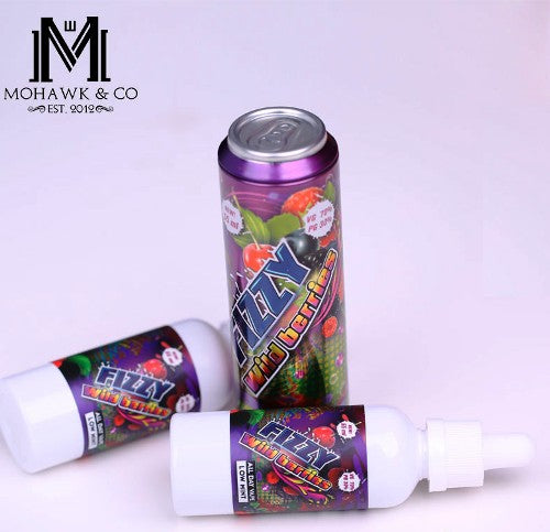 Mohawk & Co. - Fizzy Wild Berries - 55 ml Shortfill