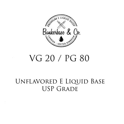 PG 80 / VG 20 E Liquid Base