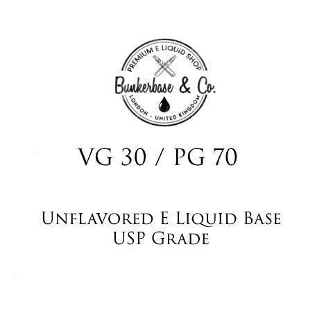 PG 70 / VG 30 E Liquid Base