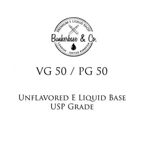 VG 50 / PG 50 E Liquid Base