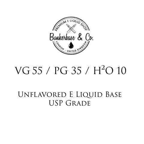 VG 55 / PG 35 / H²O 10 E Liquid Base