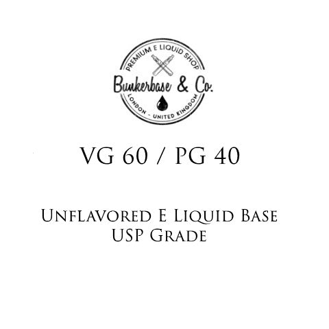 VG 60 / PG 40 E Liquid Base