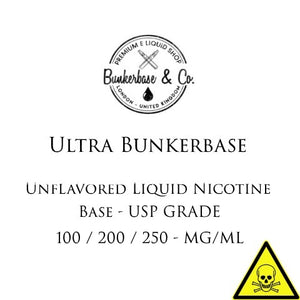 Ultra Nicotine Base 100 mg - 200 mg - 250 mg / ml