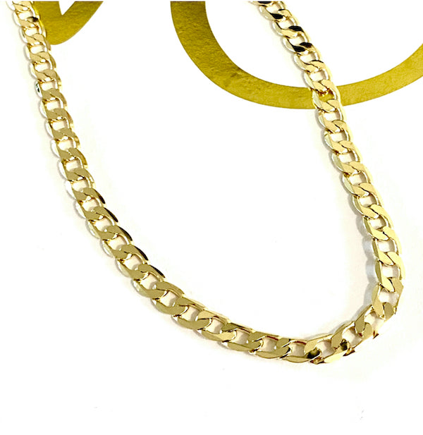 THE CUBAN CURB LINK NECKLACE
