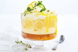 Gin and Tonic Trifle