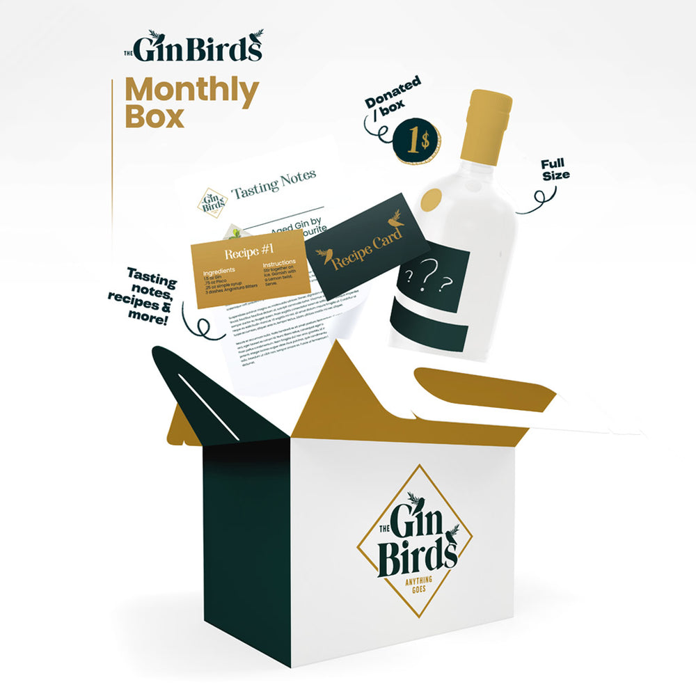The Gin Birds Monthly Box