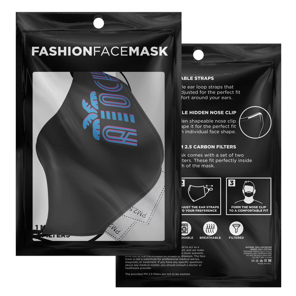 Atocha Vice Blue Mask