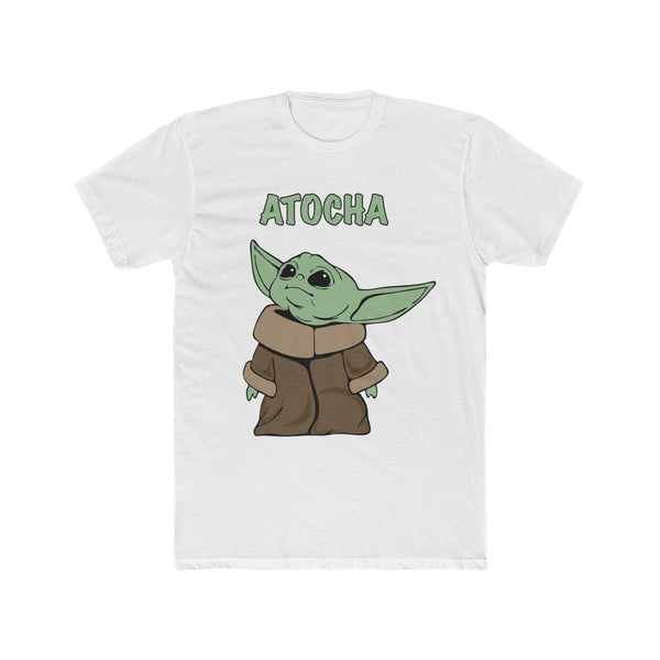 Baby Yoda Men's Cotton Crew Tee