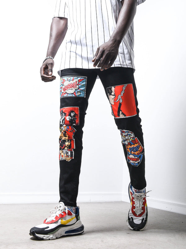 Comic Books Jeans 4676