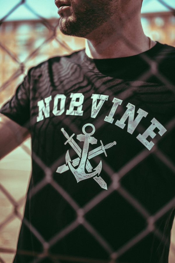 Anchor Black Tee