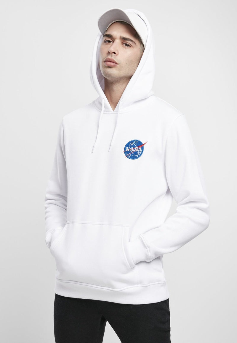 NASA Insignia Embroidered Logo Hoodie