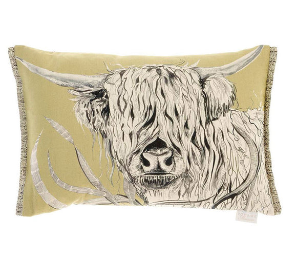 Voyage Maison, Cushion,  Allie Mae Living ,  Rudy Mustard Filled Cushion - Allie Mae Living