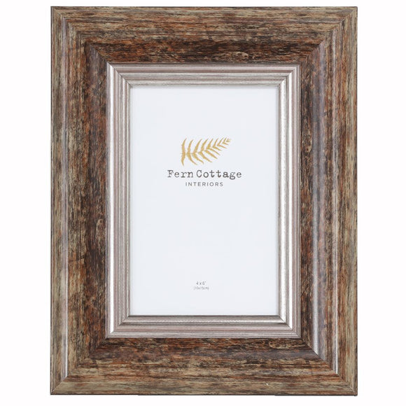 Distressed Wood Frame 4x6 (6673809146016)