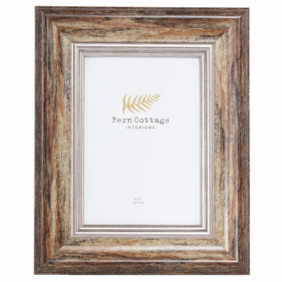 Distressed Wood Frame 5x7 (6673815601312)